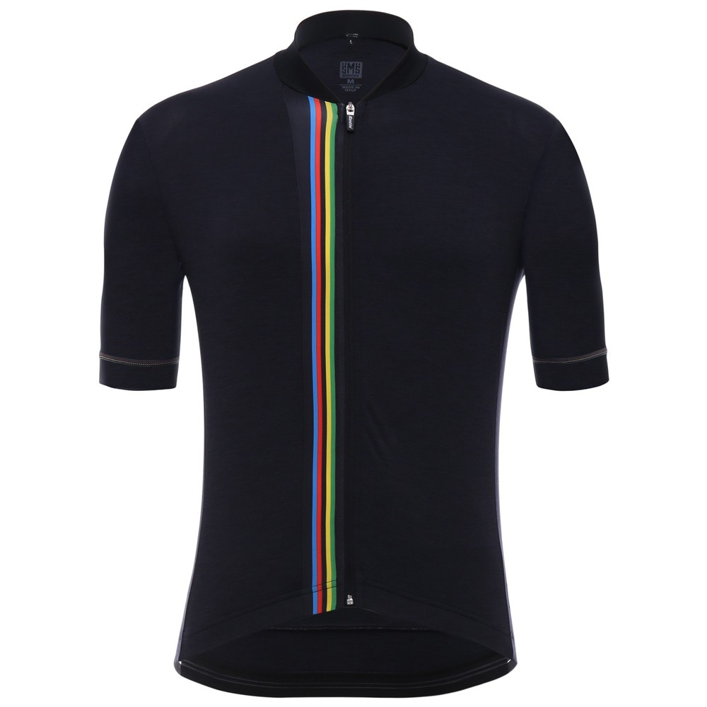 Santini UCI Collection Rainbow Short Sleeve Jersey