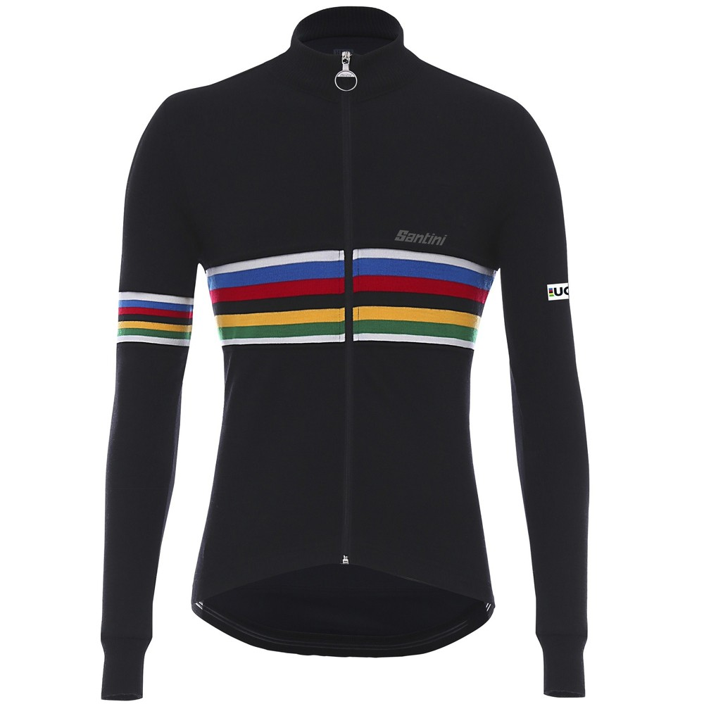 Santini UCI Collection Wool Long Sleeve Jersey