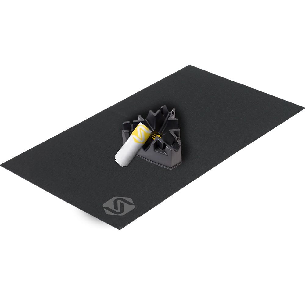 Saris Turbo Trainer Accessory Kit (Mat, Climbing Block & Towel)
