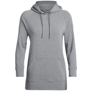 Icebreaker Momentum Hooded Long Sleeve Womens Pullover