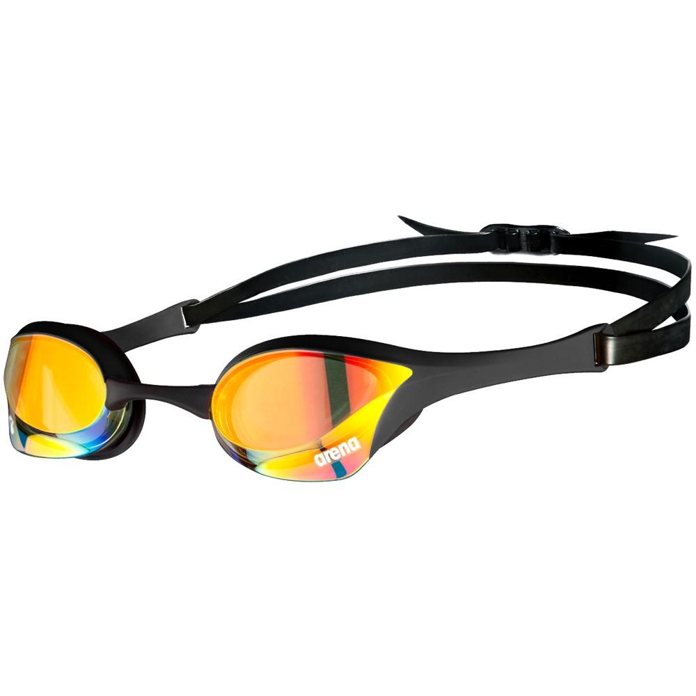 Arena Cobra Ultra Swipe Gold Mirror Goggles