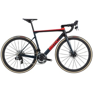 BMC Teammachine SLR01 One Red ETap AXS HRD Disc Road Bike 2020
