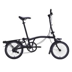 Brompton Black Edition Steel M6L Folding Bike with Mudguards
