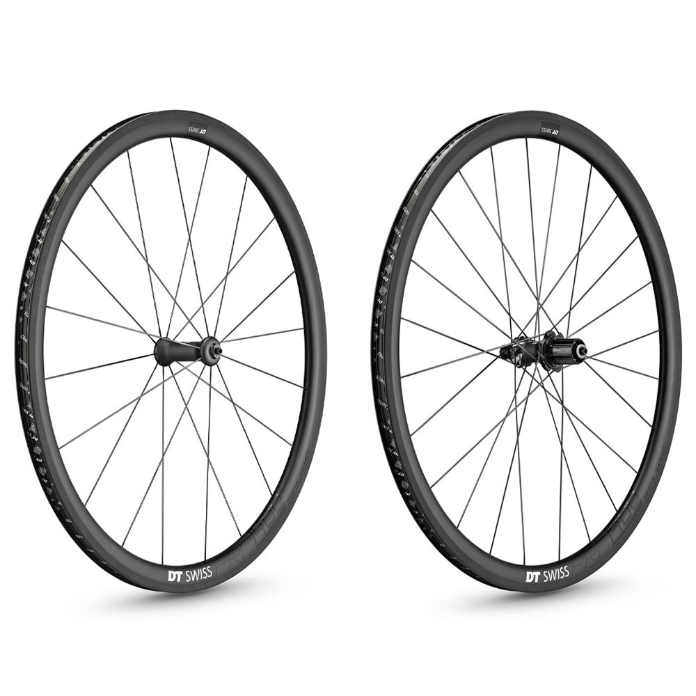 DT Swiss PRC 1400 SPLINE 35mm Clincher Wheelset