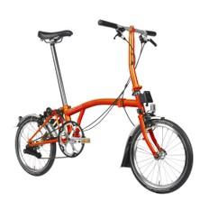 Brompton Steel S2L Folding Bike with Mudguards