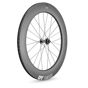 DT Swiss ARC 1400 DICUT 80mm Clincher Disc Brake Front Wheel