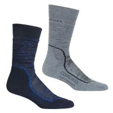 Icebreaker Hike+ Medium Crew Lava Socks