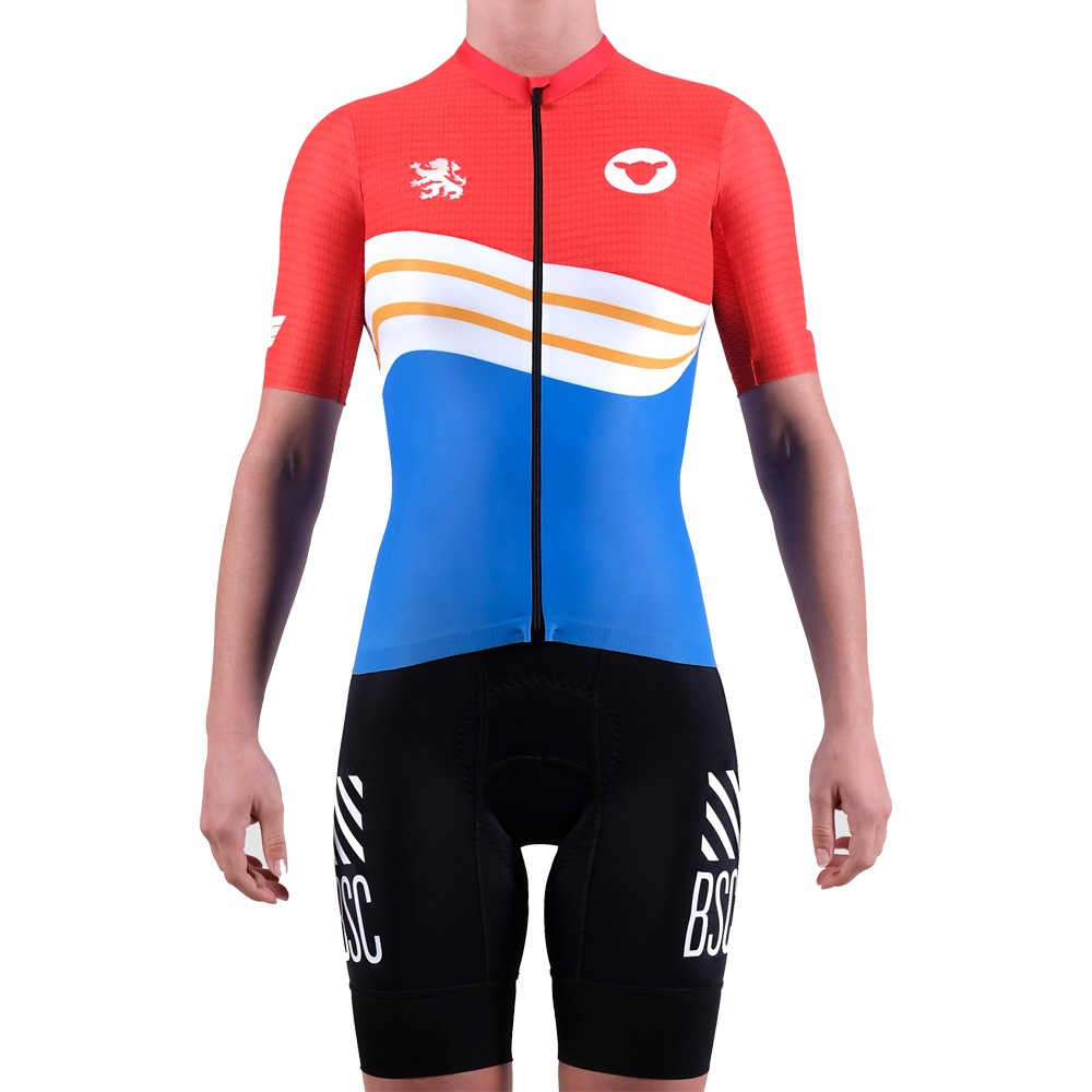 Black Sheep Cycling LTD Worlds Netherlands Womens Short Sleeve Jersey
