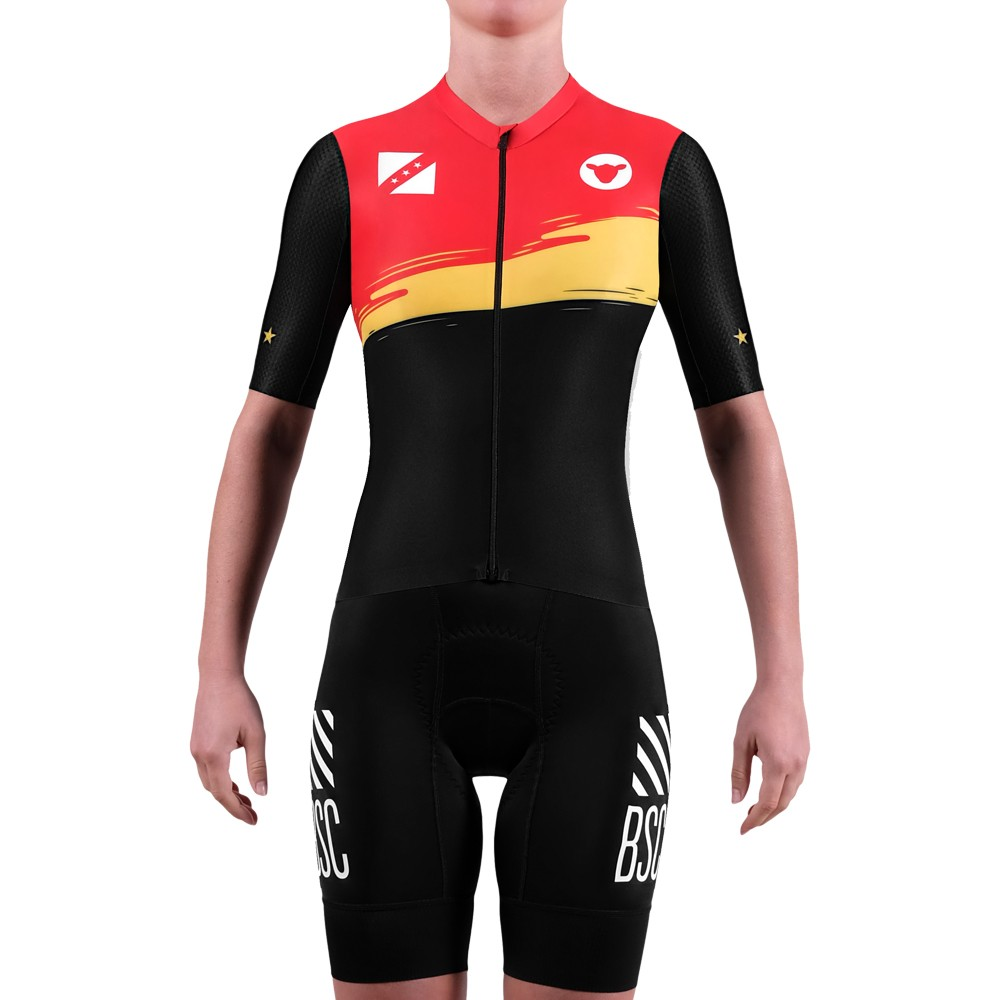 Black Sheep Cycling LTD Worlds Belgium Womens Short Sleeve Jersey