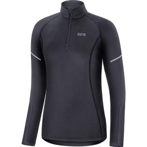 Gore Wear M Womens Mid Long Sleeve Zip Running Shirt