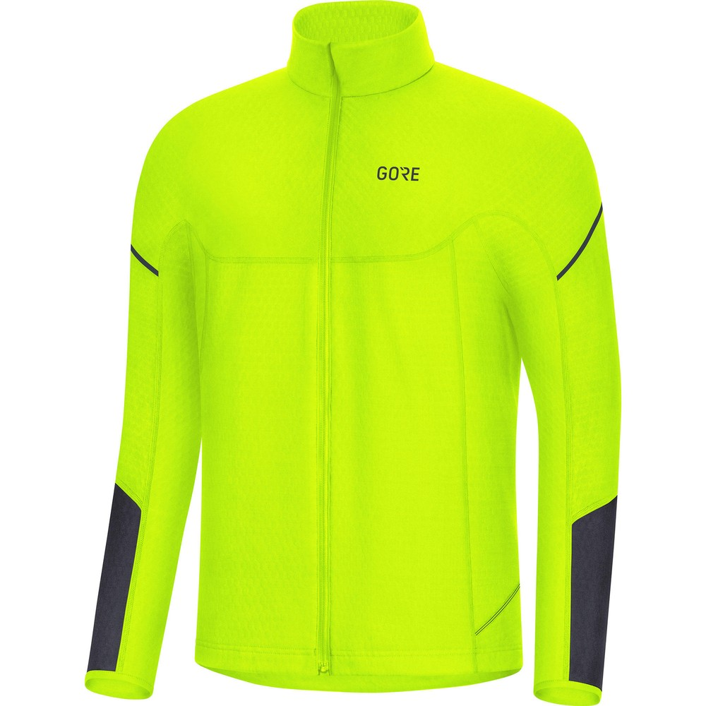 Gore Wear M Thermo Long Sleeve Zip Running Shirt