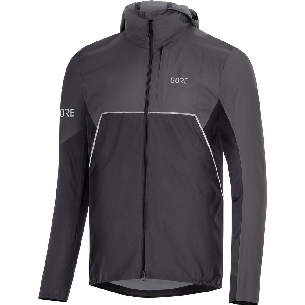 Gore Wear R7 Partial Gore-Tex Infinium Hooded Running Jacket
