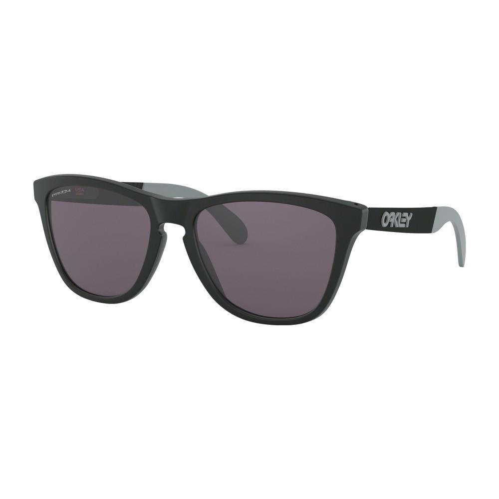 Oakley Frogskins Metallic Sunglasses With Prizm Grey Lens