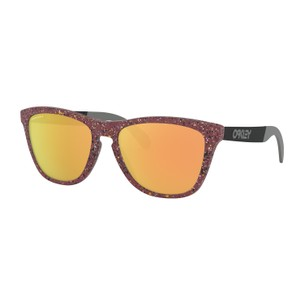 Oakley Frogskins Mix Metallic Splatterfade Sunglasses Prizm Rose Gold Lens
