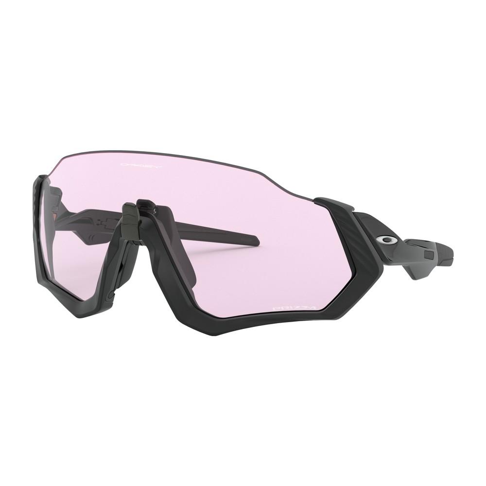 Oakley Flight Jacket Sunglasses With Low Light Lens