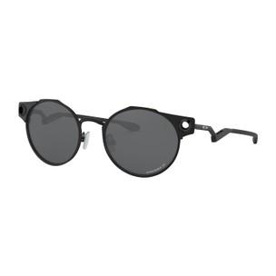 Oakley Deadbolt Sunglasses With Prizm Black Polarized Lens