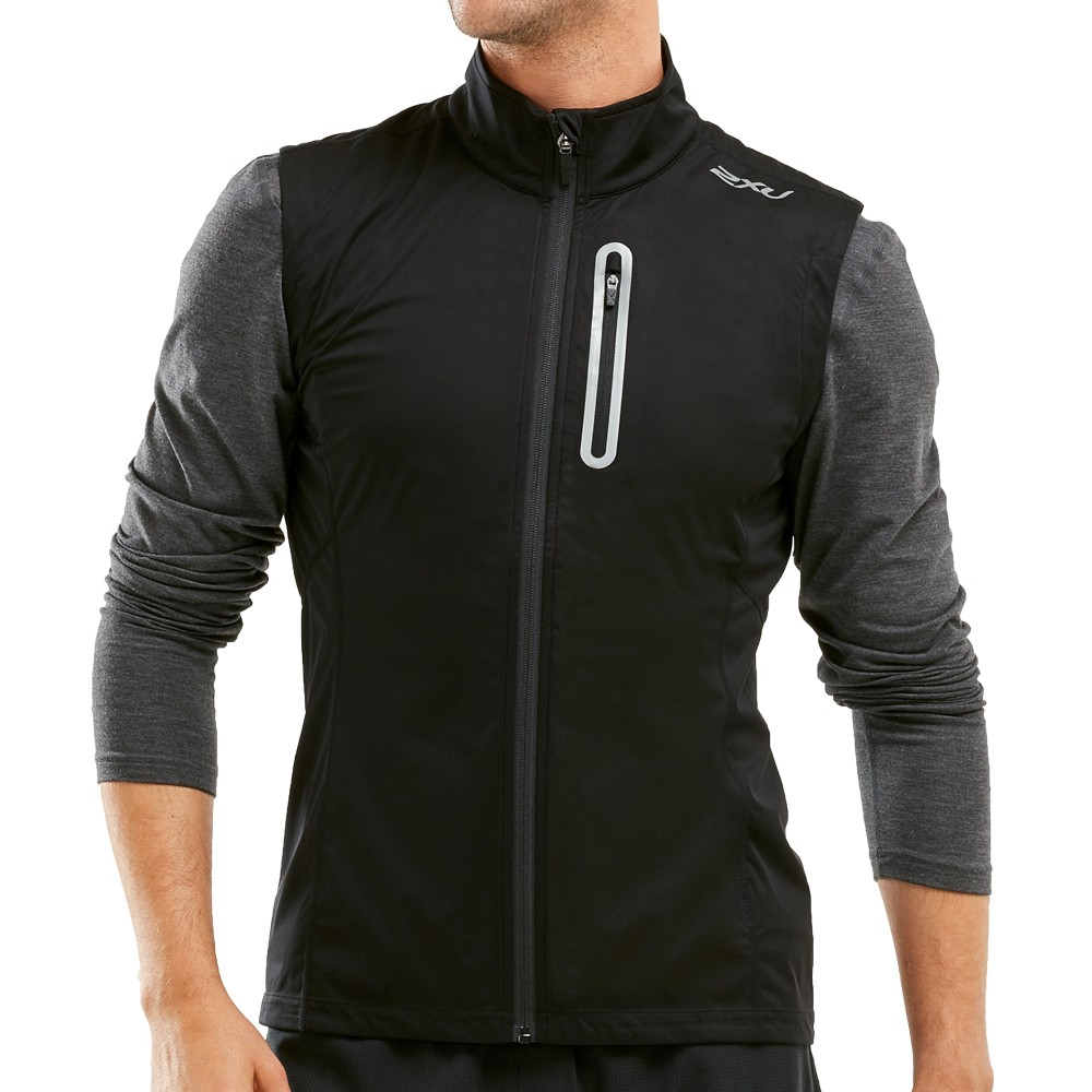 2XU Wind Defence Membrane Run Vest
