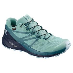 Salomon Sense Ride 2 GTX Invisible Fit Womens Trail Running Shoes