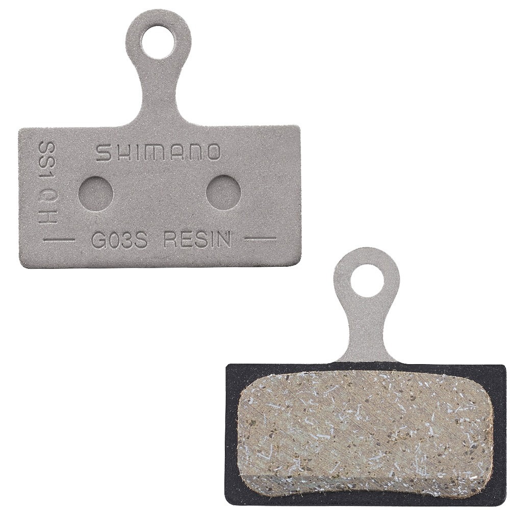 Shimano Shimano G03S Steel Backed Disc Brake Pads - Resin
