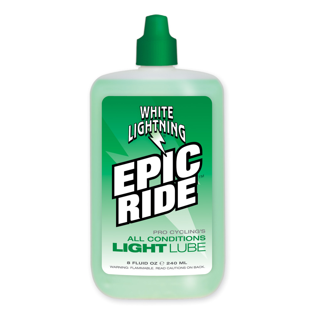 White Lightning Epic Ride All Condition Lubricant 240ml