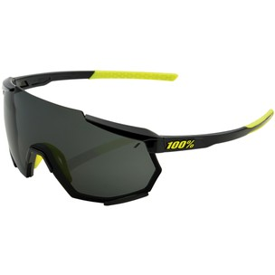 100% Racetrap Sunglasses With Smoke Lens