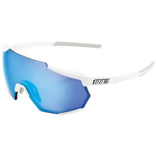 100% Racetrap Sunglasses With HiPER Blue Mirror Lens