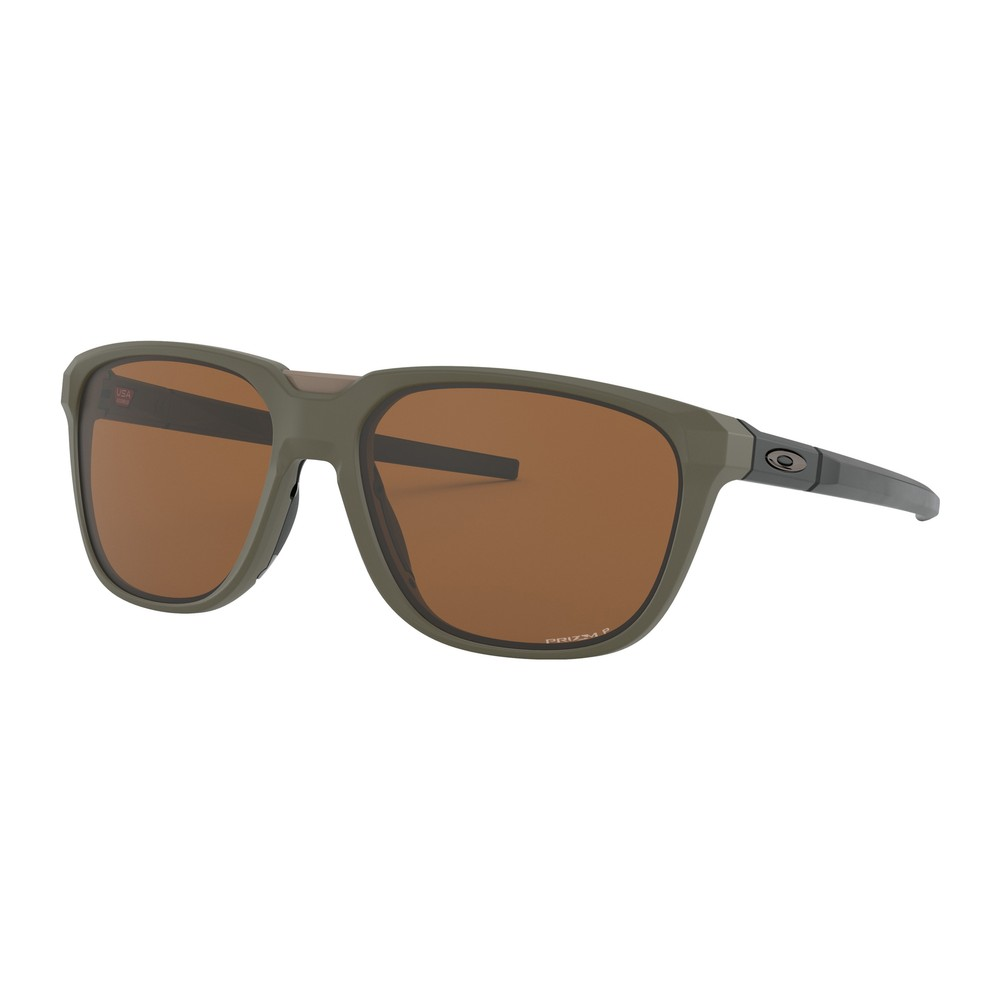 Oakley Anorak Sunglasses With Prizm Tungsten Polarized Lens