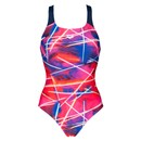 Arena Light Beams Womens Pro Back One Piece Swimsuit