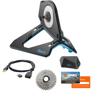 Tacx Neo 2T Smart Direct Drive Turbo Trainer Zwift Bundle
