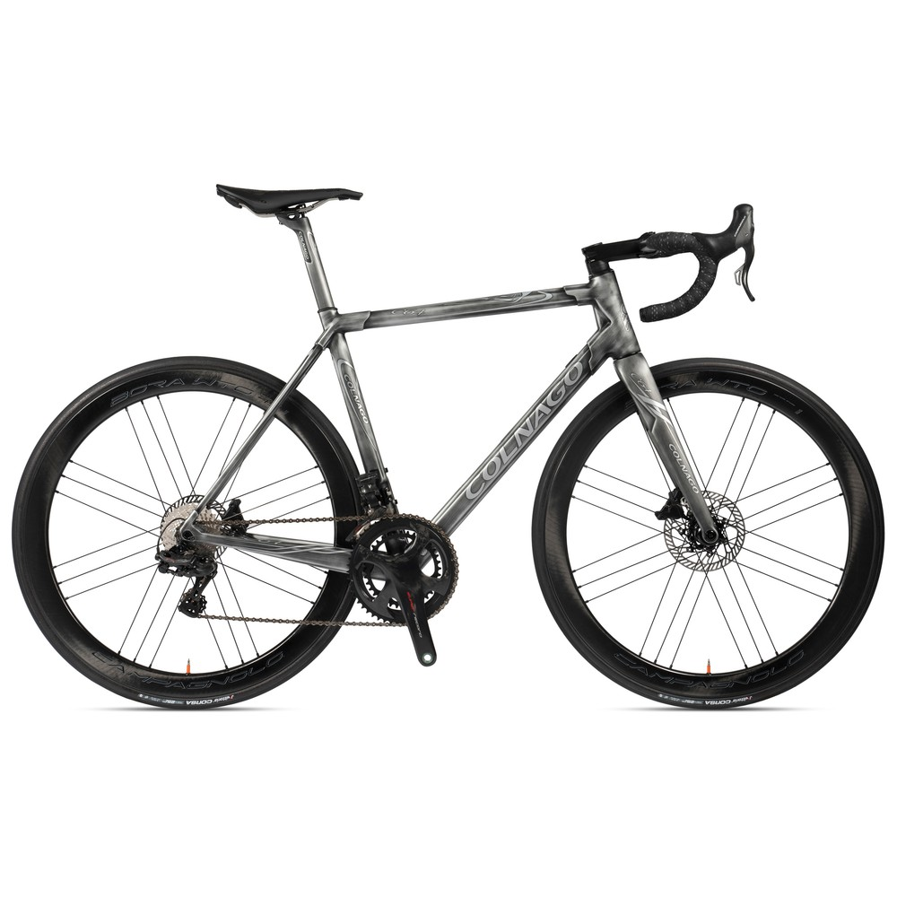 Colnago C64 Super Record EPS 12-Speed Disc Road Bike (Sloping Geometry)