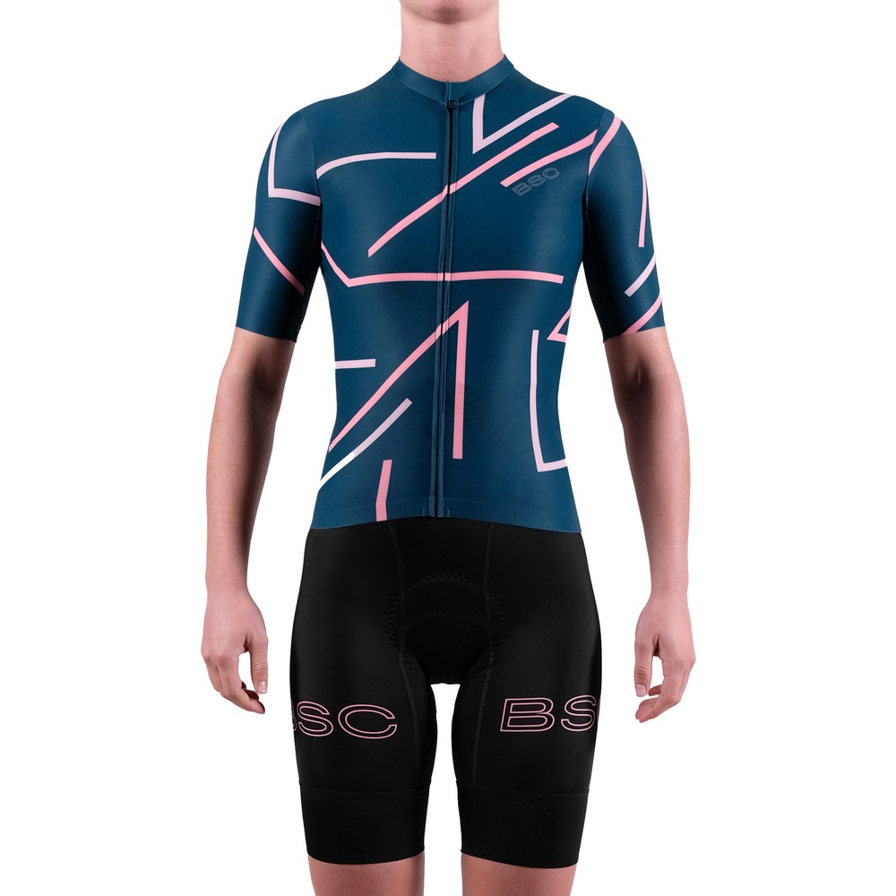 Black Sheep Cycling WMN Stripe Short Sleeve Jersey