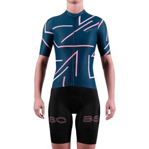Black Sheep Cycling WMN Stripe Short Sleeve Jersey