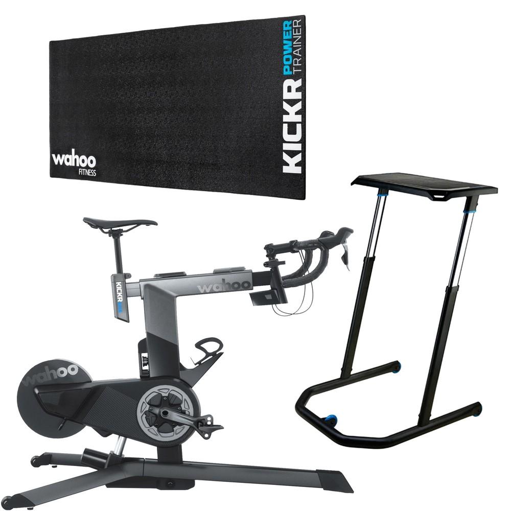 Wahoo KICKR Smart Bike Indoor Trainer Basics Bundle