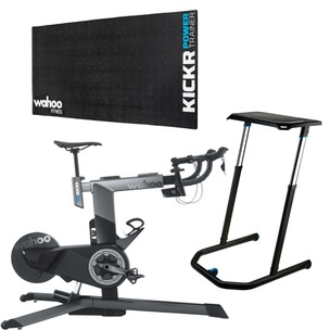 Wahoo KICKR Smart Bike Indoor Trainer Basics Bundle