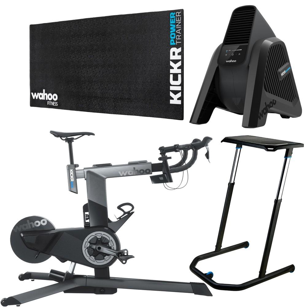 Wahoo KICKR Smart Bike Indoor Trainer Ultimate Bundle