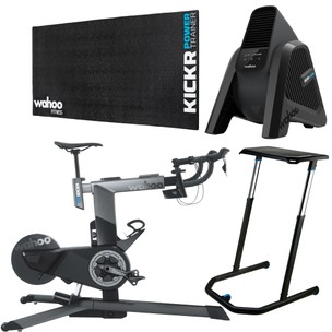Wahoo KICKR Smart Bike Indoor Trainer Ultimate Bundle