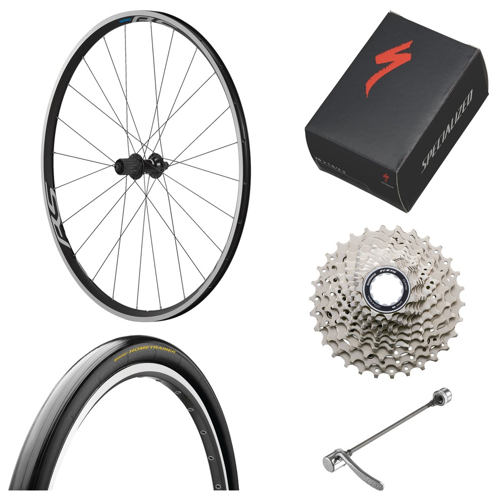 Shimano Turbo Trainer Ready 11-Speed Wheel Bundle
