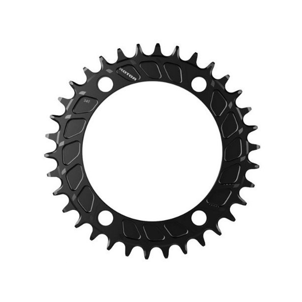 Rotor Single Mount 110BCD Round MTB Chainring (4 Bolt)