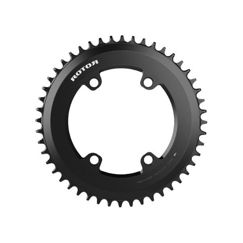 Rotor Aero 1x 110BCD Round Chainring (4 Bolt)