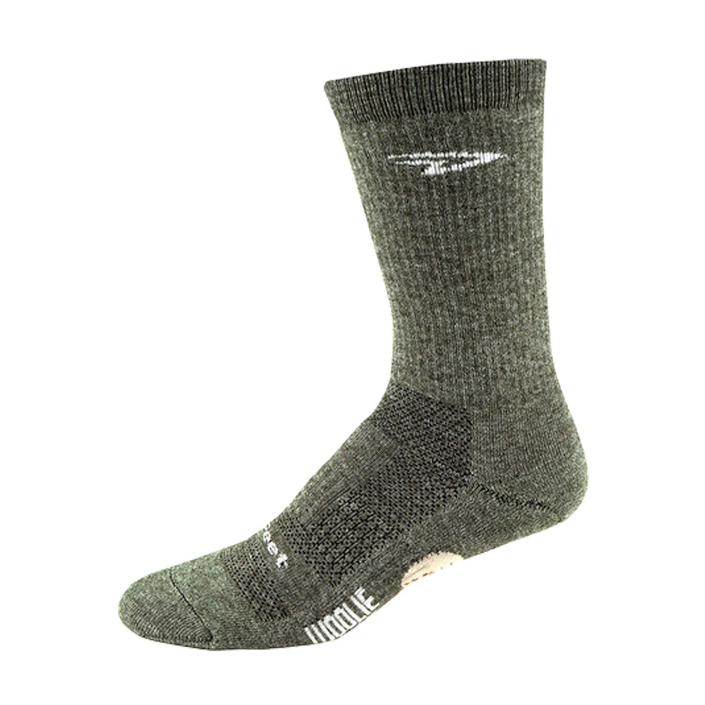 DeFeet Woolie Boolie Comp 6 Inch D-Logo Socks