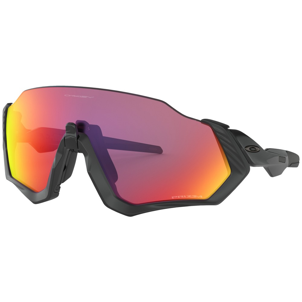 Oakley Flight Jacket Sunglasses With Prizm Road Lens