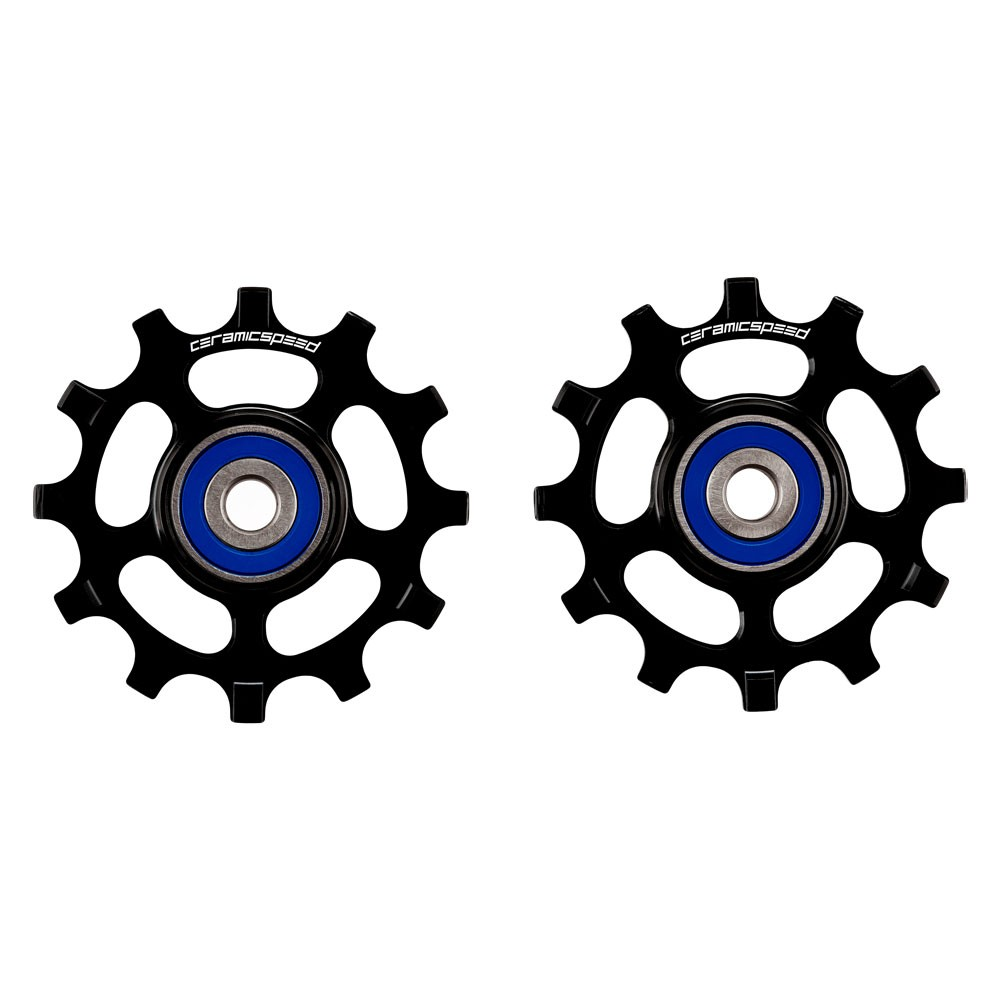 CeramicSpeed Shimano 11-Speed Road Coated Narrow Wide 12 Tooth Pulley Wheels