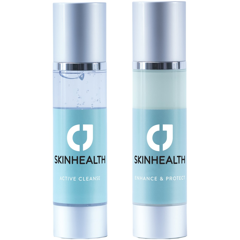 CJ Skinhealth Two Step Routine: Active Cleanse + Enhance & Protect 50ml