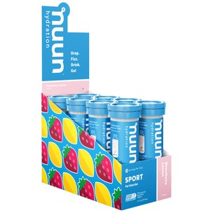 Nuun Sport Electrolyte Hydration Box Of 8 X 10 Tablets