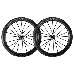 Lightweight Fernweg EVO 63mm Schwarz Edition Tubeless Disc Brake Wheelset