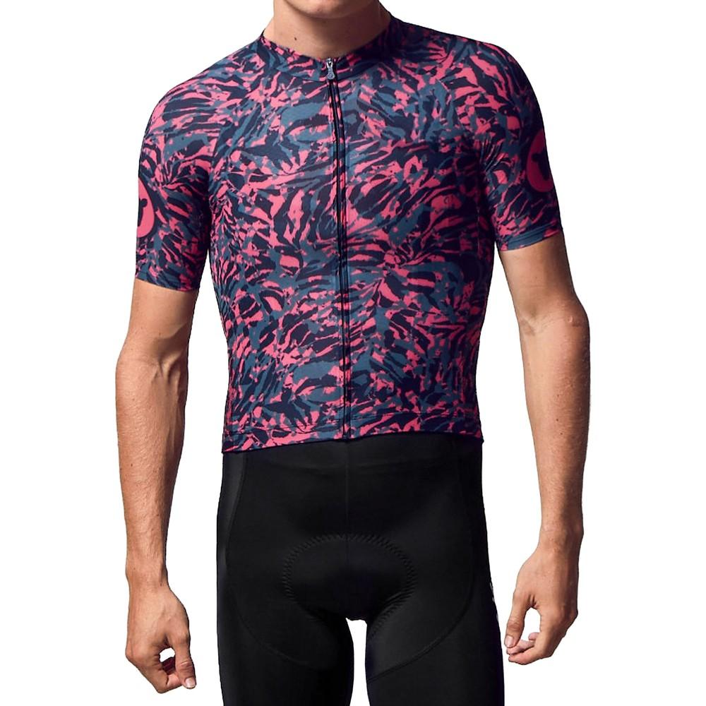 Black Sheep Cycling Predator Prey LTD Neon Zebra Short Sleeve Jersey
