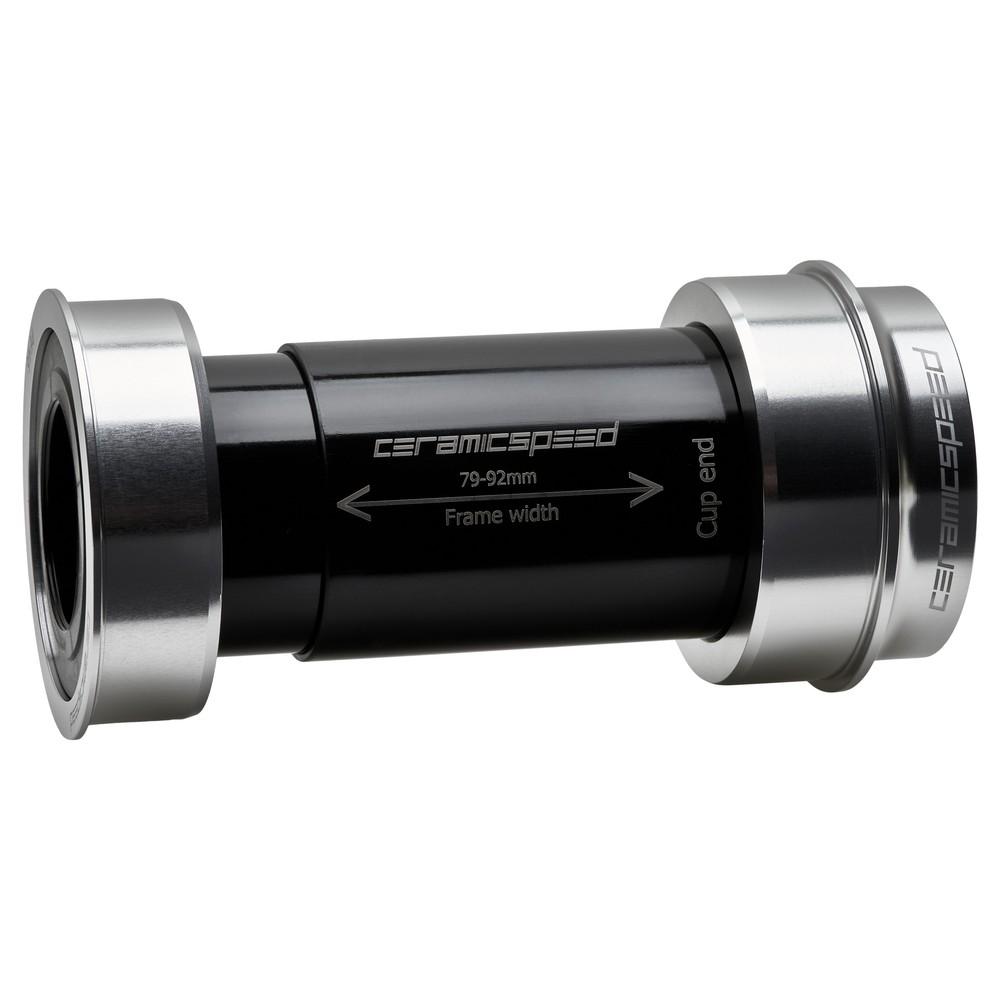 CeramicSpeed BBright Shimano Coated Bottom Bracket - Silver Ltd Edition