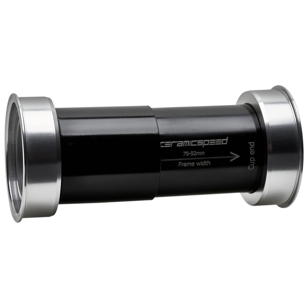 CeramicSpeed EVO386 Shimano Coated Bottom Bracket - Silver Ltd Edition