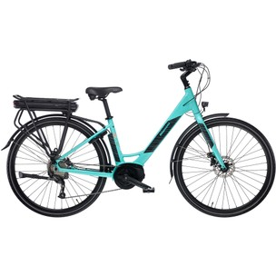 Bianchi Long Island Altus Womens Disc Electric Hybrid Bike 2020