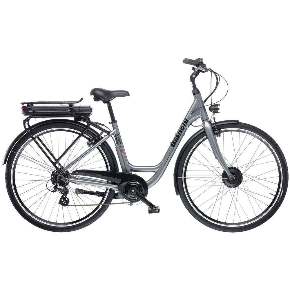 Bianchi E-Spillo City Altus Womens Electric Hybrid Bike 2020